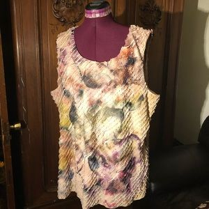 NWOT Coldwater Creek sleeveless blouse